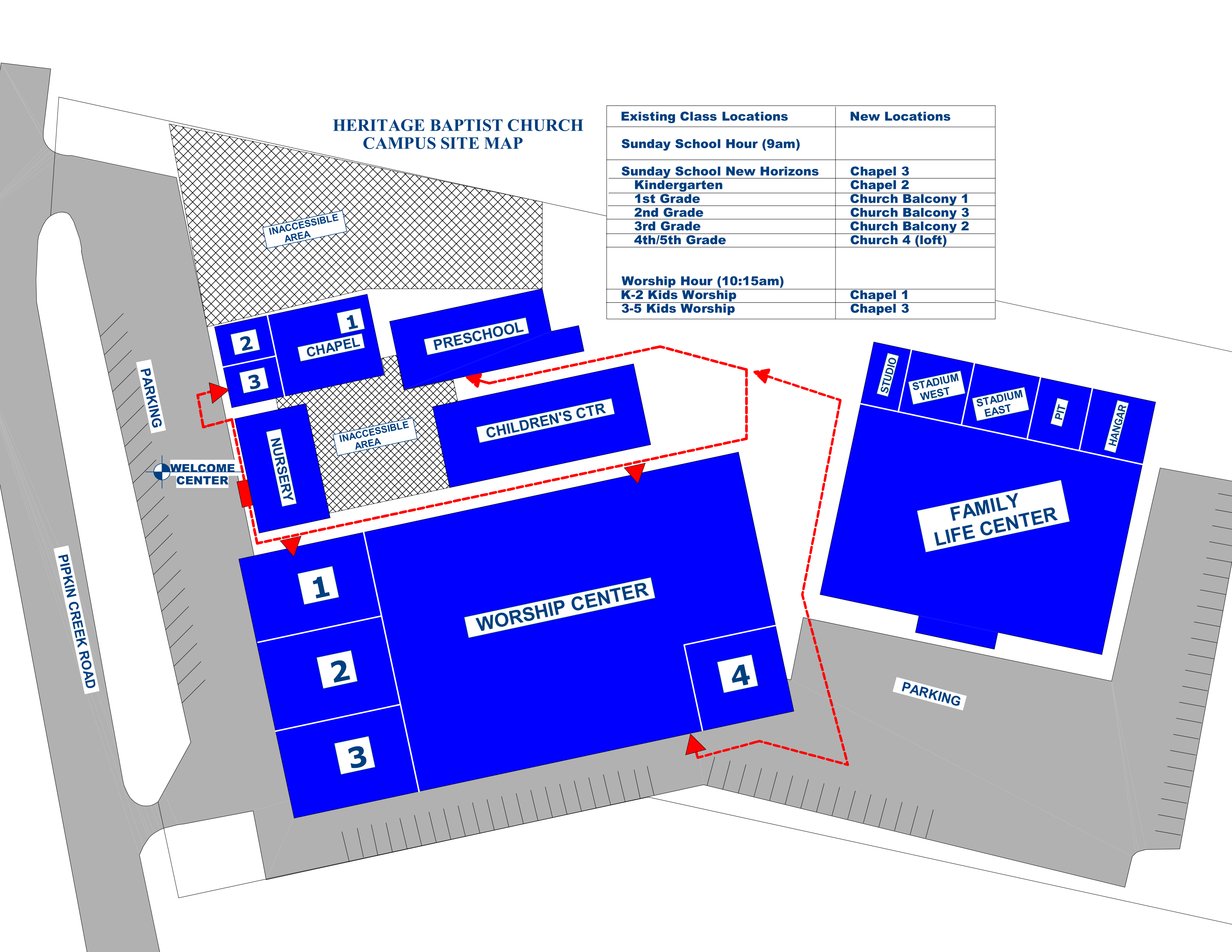 CTH Construction - Room Assignments